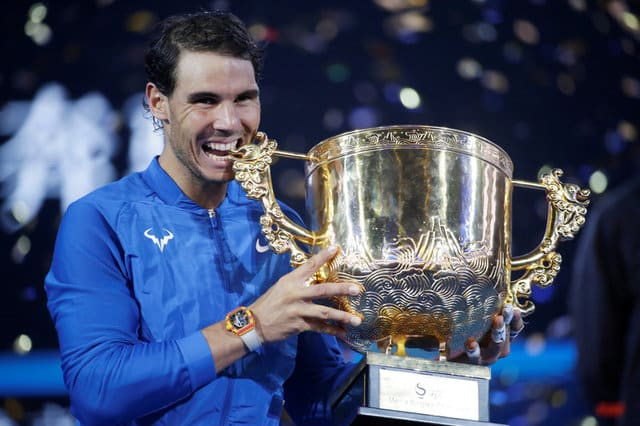 Nadal thrashes Kyrgios to win China Open title