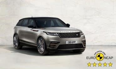 Five-Star Euro NCAP safety rating for Range Rover Velar