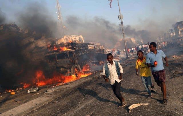Bombs kill at least seven in Somalia's capital Mogadishu