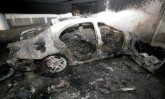 Football association deputy head's car target of arson attack