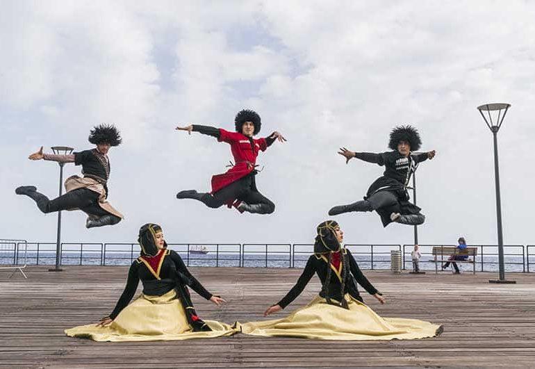 Folk dance ensemble has moves in the DNA