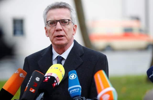 German police arrest Syrian suspect, avert 'major attack'