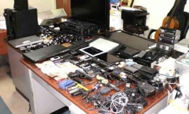 Two men re-arrested after stolen goods found