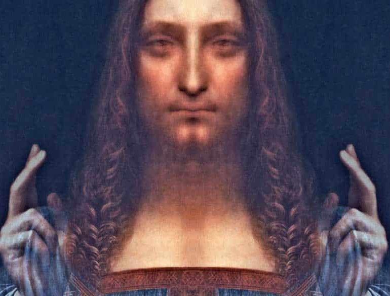 Leonardo Da Vinci S Christ Painting
