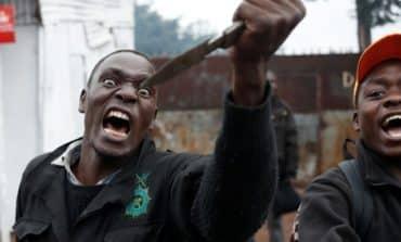 Shooting, tear gas, bonfires mar Kenya election re-run
