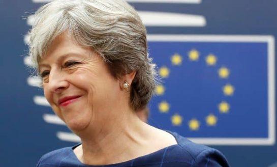 May urges EU to break deadlock in Brexit talks