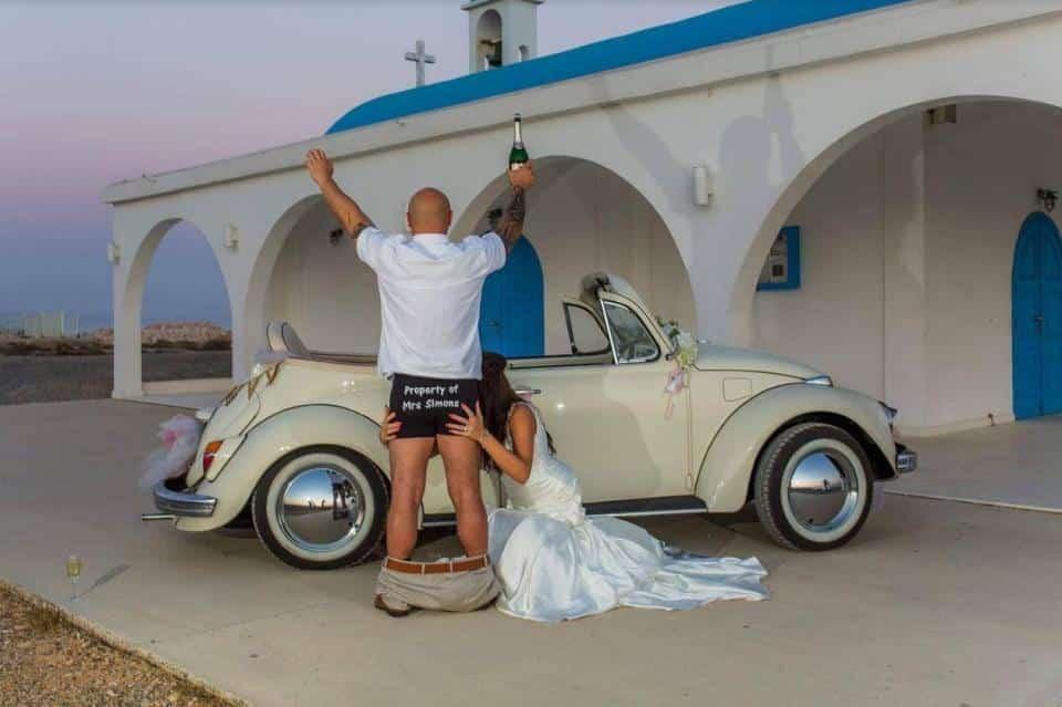 Bishop Imposes Ban After Oral Sex Wedding Photo - Cyprus -9919