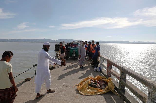 Rohingya refugee boat capsizes on way to Bangladesh, 12 dead