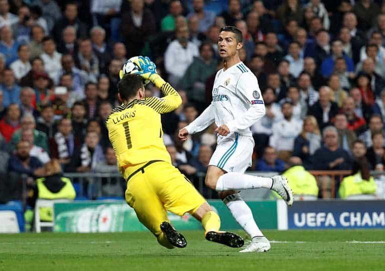 Acrobatic Spurs keeper Lloris keeps Real at bay in Bernabeu