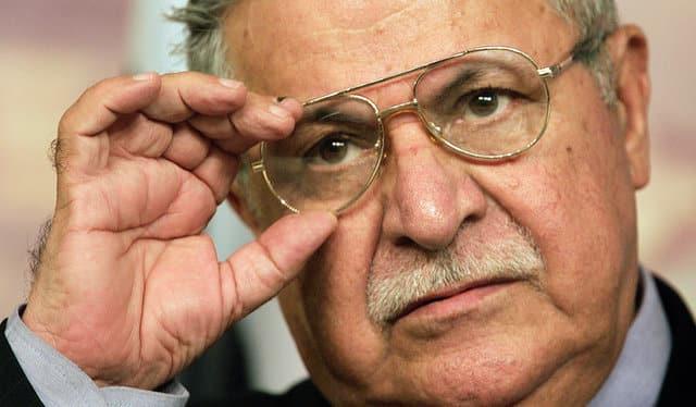 Ex-Iraqi president Talabani's body returns to Kurdish region