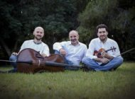 The Acamandis Piano Trio  performs for the first time as one
