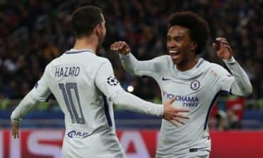 Chelsea make last 16 by brushing aside 10-man Qarabag