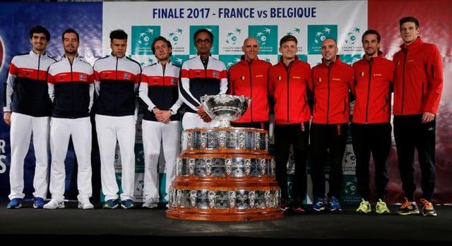France drop Benneteau, Mahut for Davis Cup final
