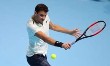 Dimitrov thrashes Goffin to reach semi-finals