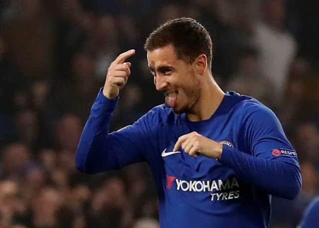 Chelsea's Hazard dreams of playing under Zidane