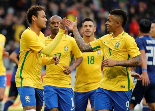 Jesus can emulate Brazil great Ronaldo, says Alves