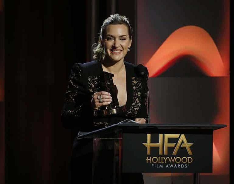 Kate Winslet won big at the Hollywood Film Awards