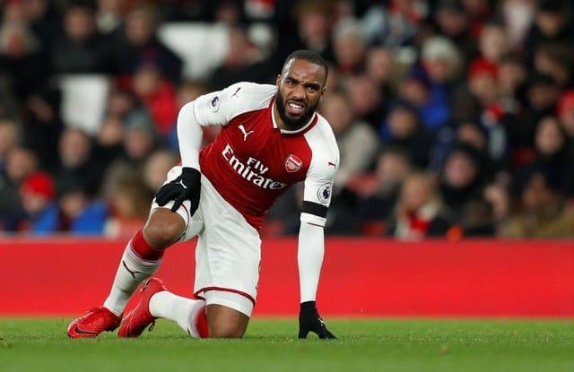 Arsenal's Lacazette to miss Man Utd clash
