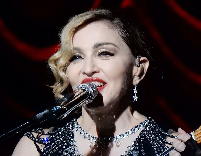 Madonna nudes going up for auction