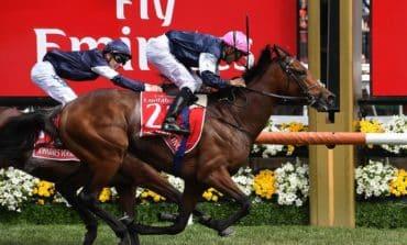 O'Brien edges dad as Rekindling wins Melbourne Cup