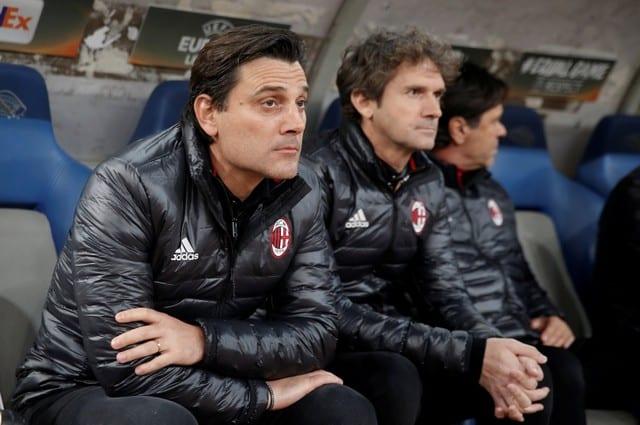 Milan fire coach Montella, name Gattuso as replacement