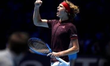 Zverev beats Cilic in impressive ATP Finals debut