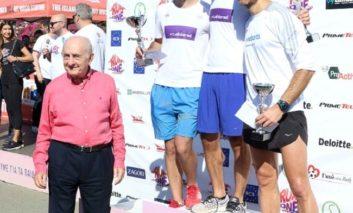 "Protopapas and Yiavasi clinch first place in ALPHAMEGA's ""Run As One"" Half-Marathon"