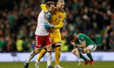 Denmark rout Ireland with Eriksen treble to reach World Cup