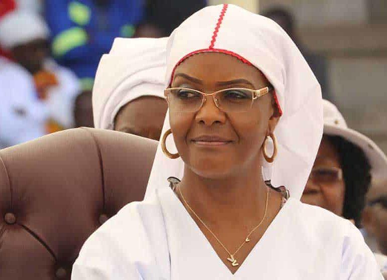 Despite all her efforts Zimbabwe's Gucci Grace will fall