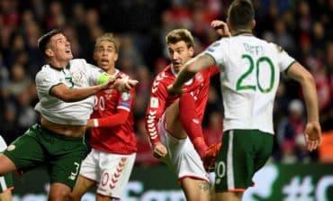Randolph frustrates Denmark as Ireland grab goalless draw