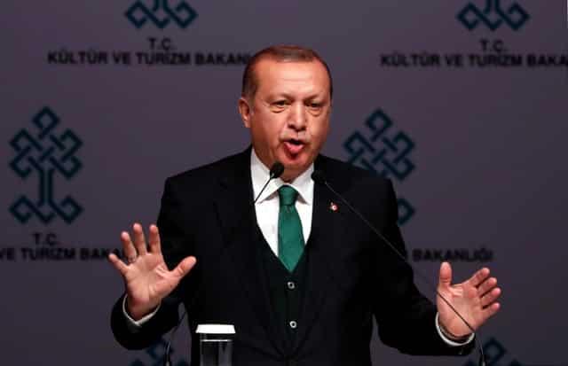 Erdogan says seeking to annul Trump decision on Jerusalem at UN