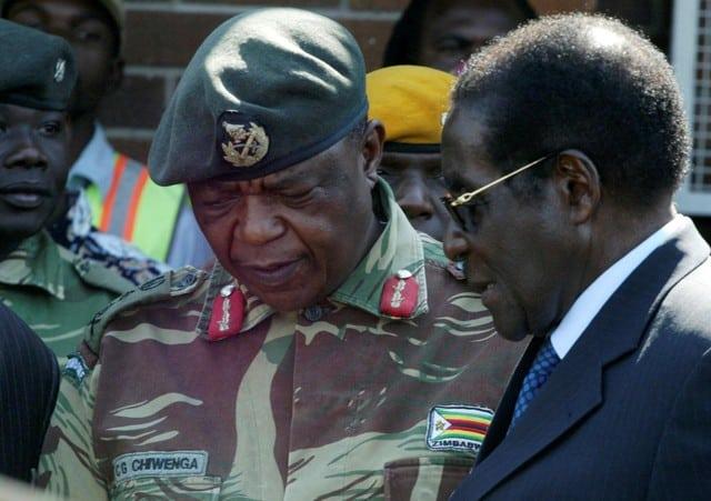 Tanks seen heading towards Zimbabwe capital