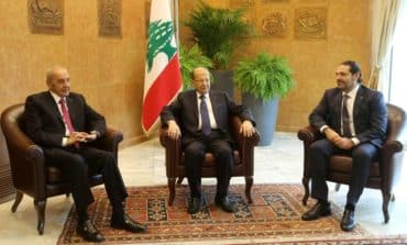 Lebanon vows to block border wall, Israel eyes diplomacy on gas field