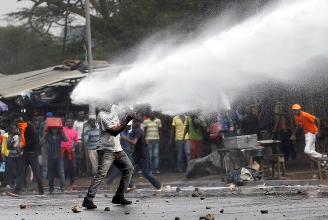 Kenya: Chaos on Mombasa Road as Police Disperse Nasa Supporters