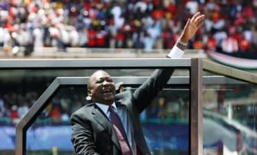Kenya president sworn in, rival Odinga promises own inauguration