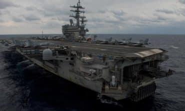 US Navy plane crashes in Philippine Sea, three missing