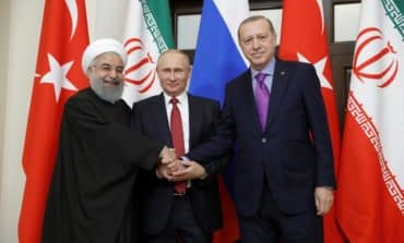 Putin says Iran, Turkey back proposed Syrian peoples' congress