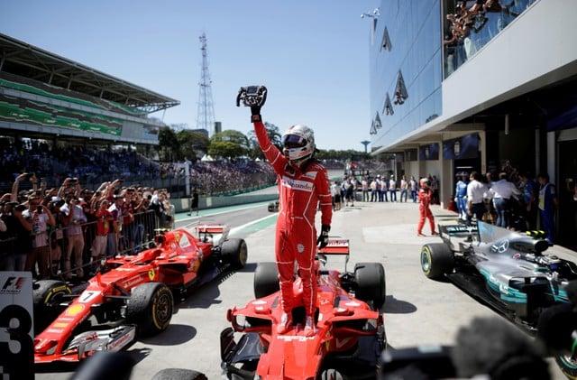 Vettel wins as Hamilton roars back to fourth