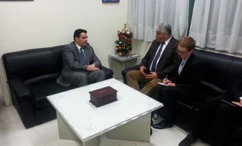 Fokaides meets German Defence State Secretary at military airbase