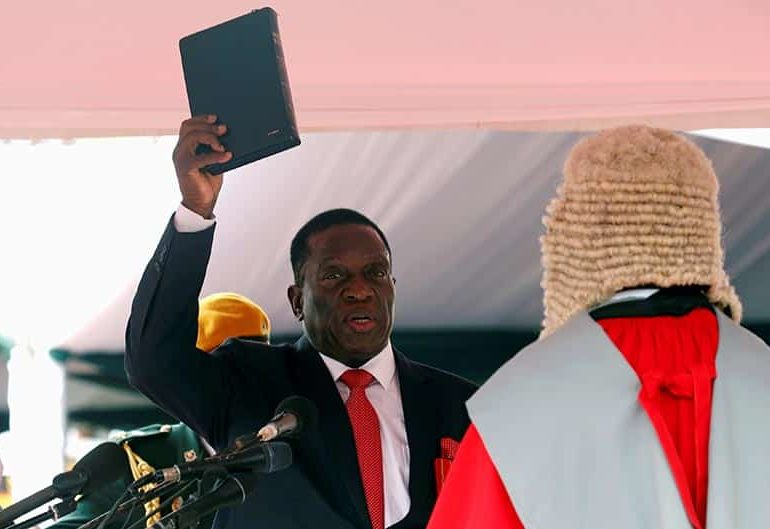 Zimbabwe's Mnangagwa drops education minister after public outcry