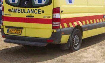 Teen injured in motorbike accident