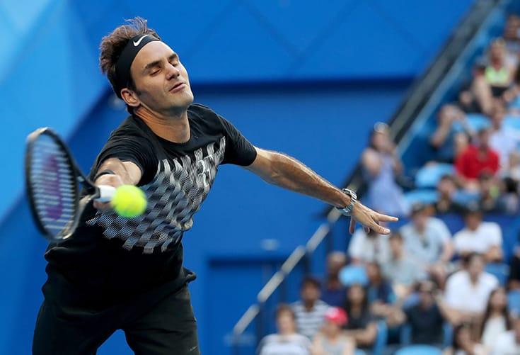 Sharp Federer gives Switzerland winning start at Hopman Cup