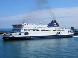 Dover-bound P&O ferry runs aground in Calais, no injuries