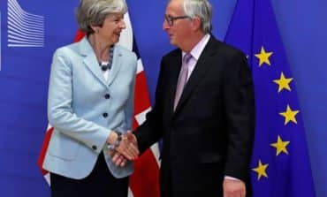 May hails new optimism in Brexit talks after deal