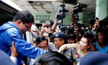 Reuters reporters appear in Myanmar court, further remanded
