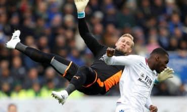 Benteke scores first of season as Palace win atLeicester