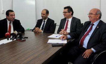 Denktash 'under pressure' to deal with Ozgurgun