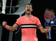 Dimitrov survives scare against McDonald to reach third round