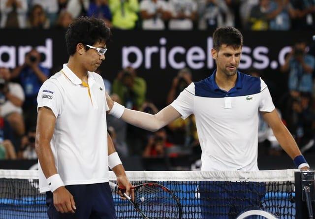 Young gun Chung stuns Djokovic in Melbourne