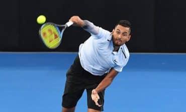 Kyrgios overcomes Dimitrov to reach Brisbane final